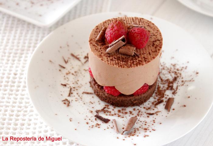 Frambuesa Chocolate Cake