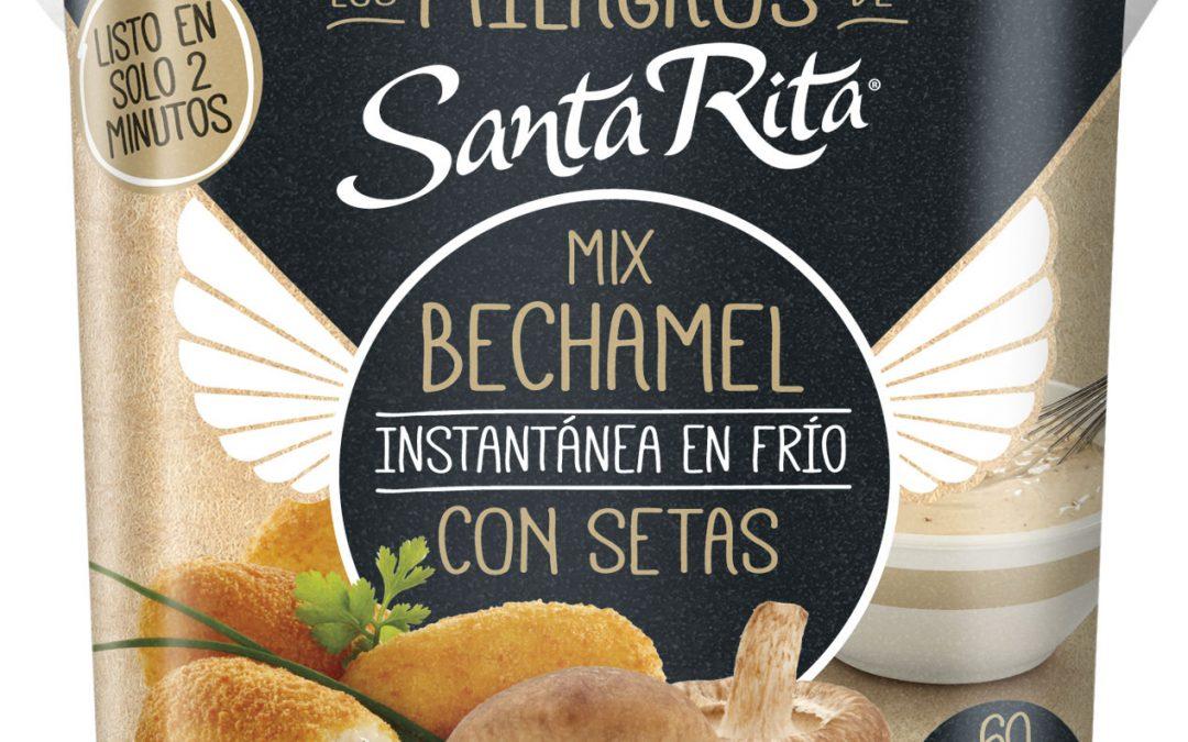Mix Bechamel Instantánea con SETAS en Frío