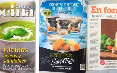 Los Milagros de Santa Rita, en prensa on line, revistas y recetas de papel