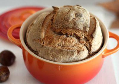 Pan de Castañas en Cocotte Original