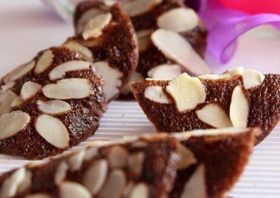 Tejas de Chocolate y Almendras