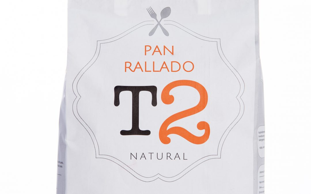Pan Rallado Natural T2 – 5 Kg