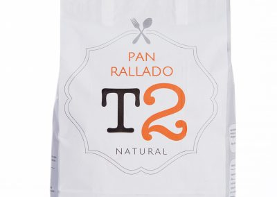 Pan Rallado Natural T2 – 5 Kg