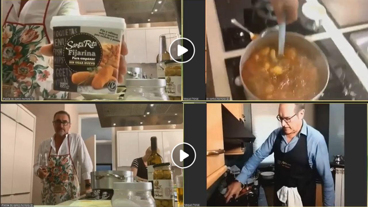 carlos herrera receta harina