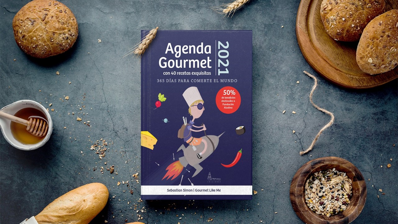 portada agenda gourmet solidaria 2021