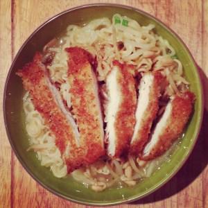 receta ramen pollo al panko