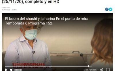 """La harina en """"El punto de mira"""" de Cuatro"""