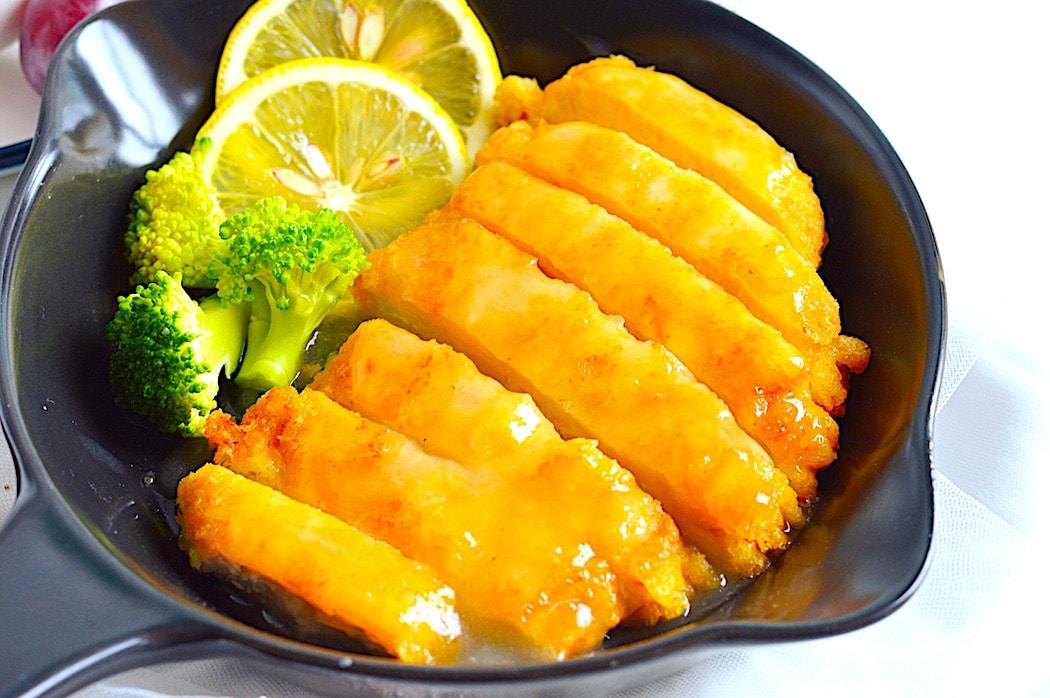 POLLO AL LIMÓN sin gluten (receta china)