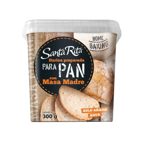 Pan con levadura de Masa Madre
