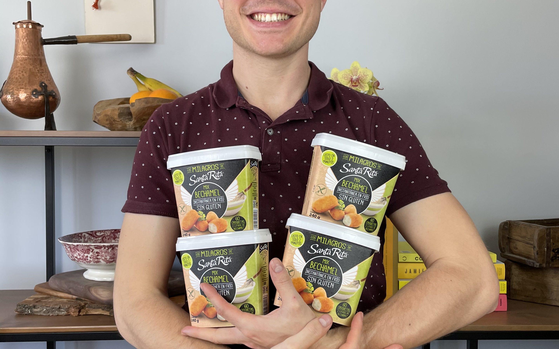 Colaboramos con Mateo Sierra, el chef sin gluten