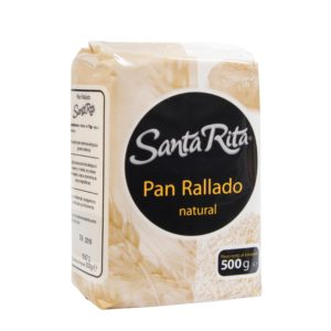 Pan Rallado Natural 500 g. Santa Rita
